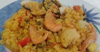 Las recetas de la mam receta de arroz de marisco en la - Superchef cf100 ...