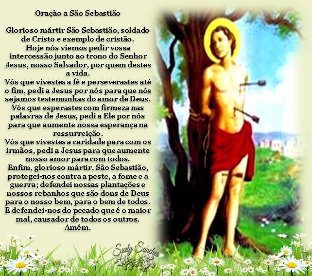 Resultado de imagem para Novena a São Sebastião