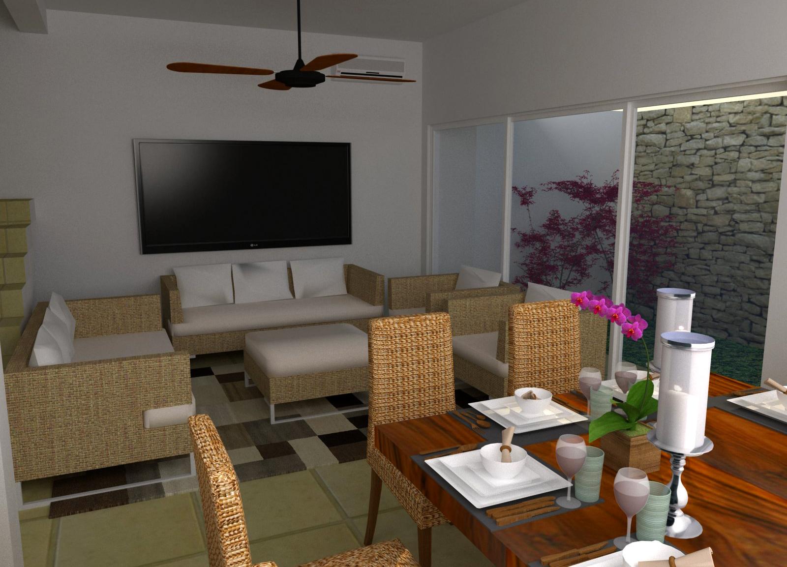 Casa ro residencial arbolada by cumbres cancun for Decoracion en cancun
