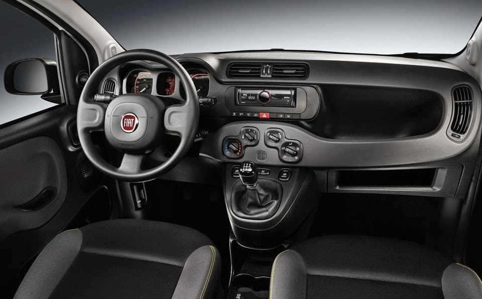 Fiat Panda Young interior