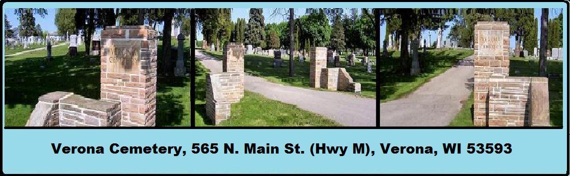 Verona Cemetery, Verona, WI