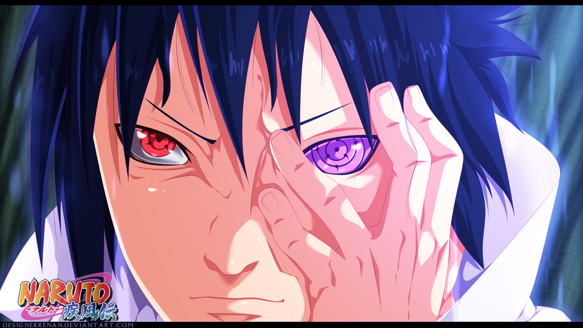 Sasuke Rinnegan Eye Wallpaper HD