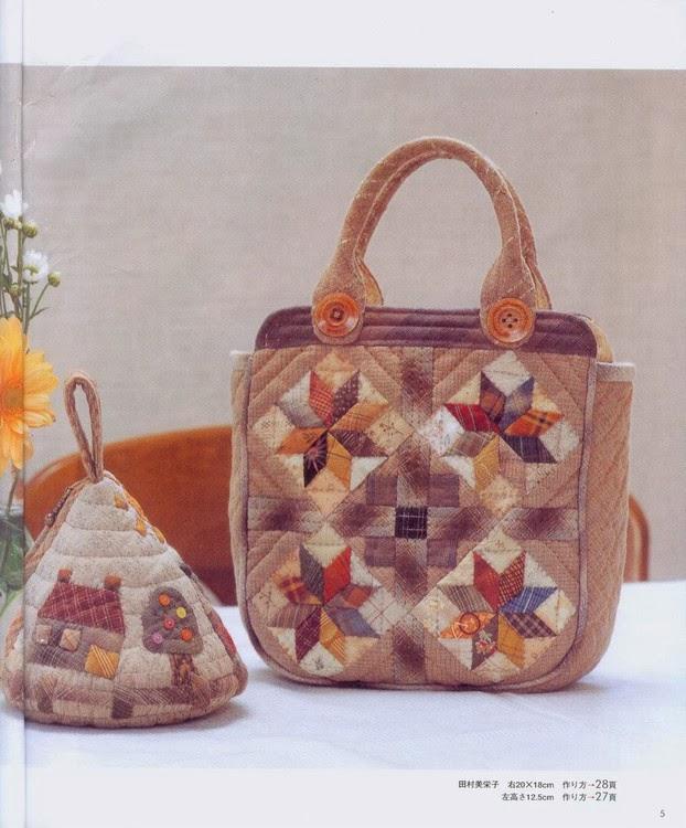 Patchwork Bag - сумки пэчворк