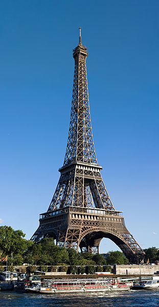 Eiffel Tower (La Tour Eiffel) in Paris, the most recognizable symbol of Paris and France -Travel Europe Guide