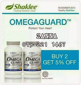 PROMOSI!!!! Omega Guard Buy 2 Get 5% OFF