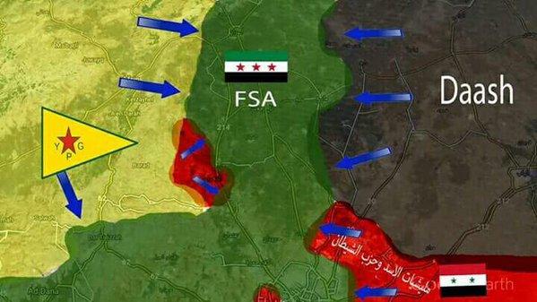 Video Pertempuran Mujahidin VS ISIS (Khawarij) di Aleppo Utara