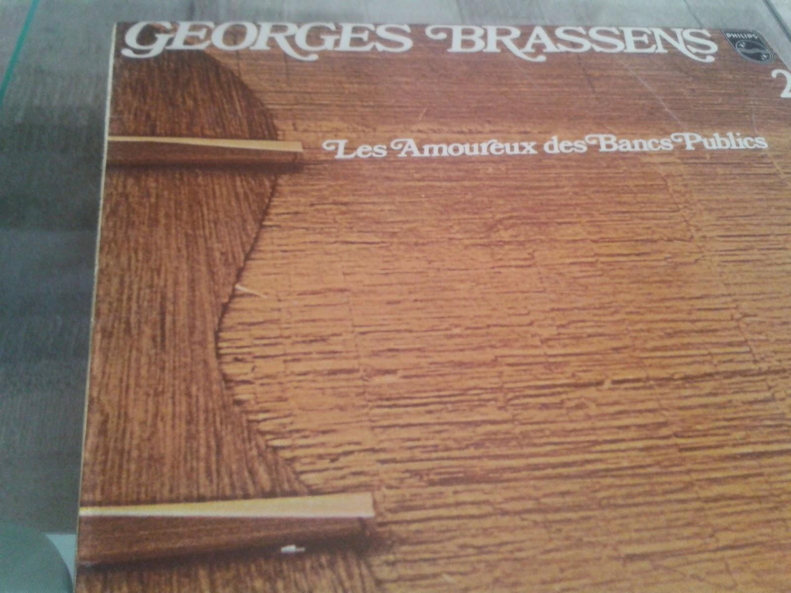 Los mil y un vinilos georges brassens 2 les amoureux des - Brassens les amoureux des bancs publics ...