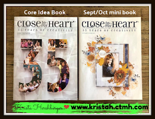 Get a FREE copy of the NEW Core  & Mini Idea books  with 1st order placed in September!