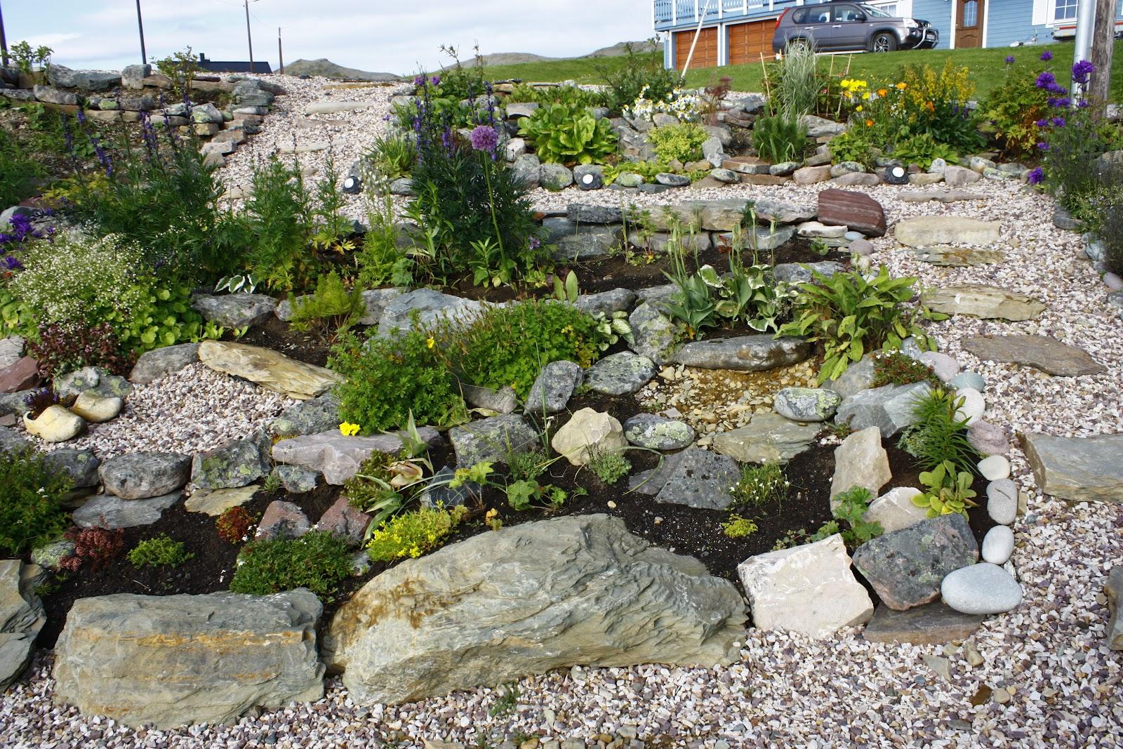 Gardening in the extreme north: Skr?ningen i slutten av august