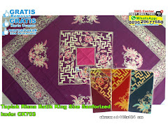 Taplak Risna Batik King Size Sanforized
