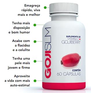 Goji Slim - aliado natural do emagrecimento saudável e seguro