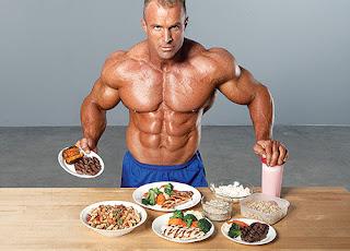 dieta para la aumentar masa muscular sin grasa