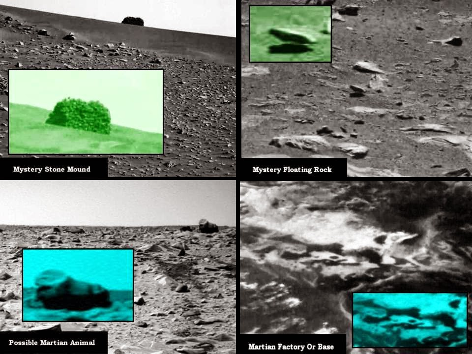 "NASA Silent On ""Historic"" Artefacts On Mars"