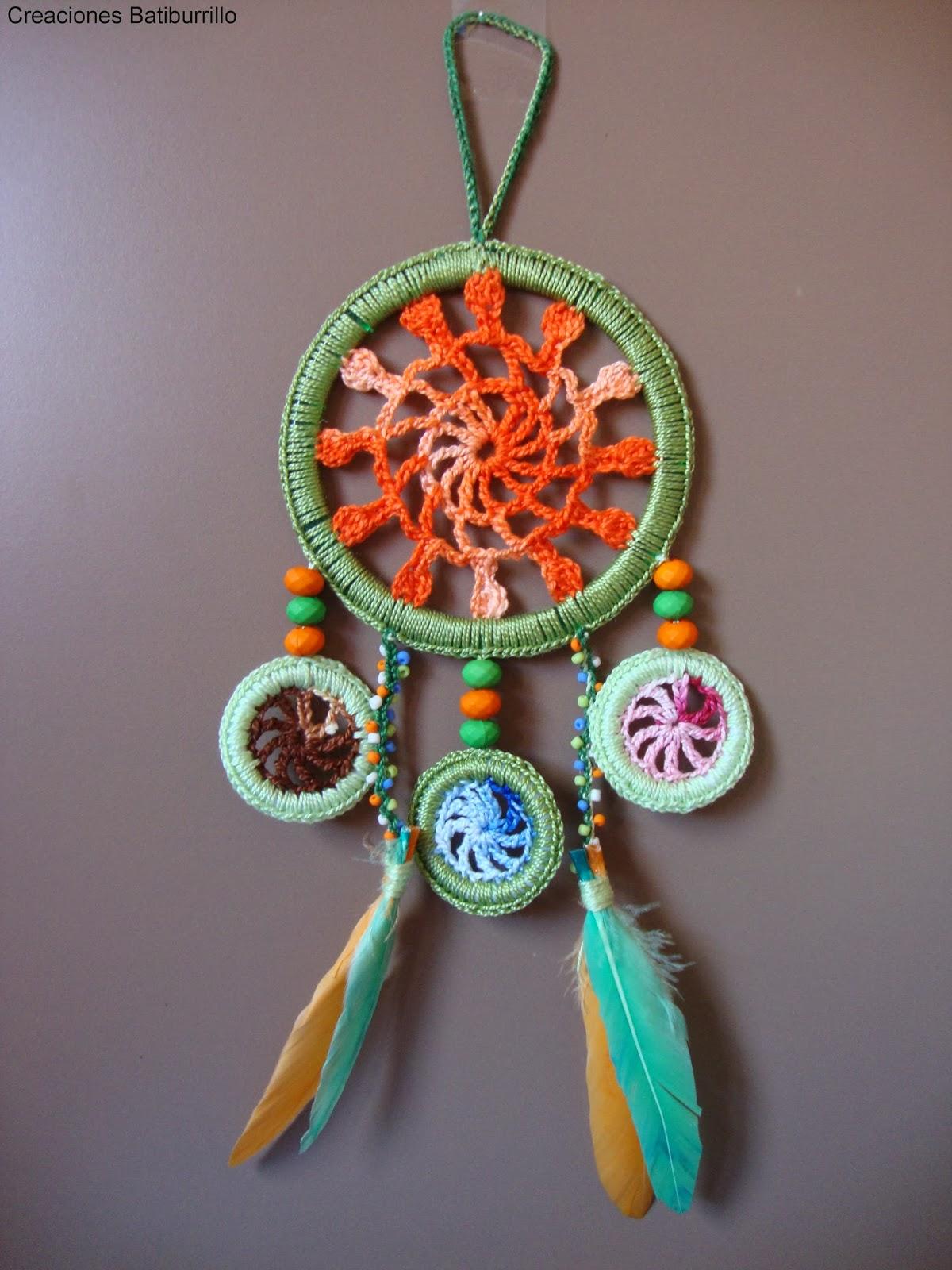 Creaciones batiburrillo atrapasue os ii versi n crochet for Aros de plastico para cortinas