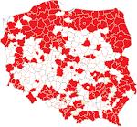 Moja pocztówkowa mapa Polski
