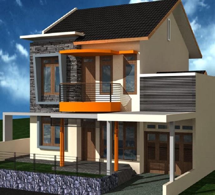 50 desain rumah minimalis 2 lantai
