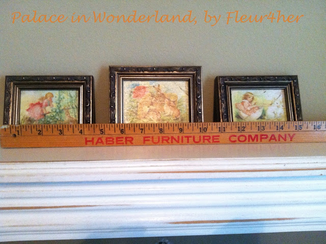 DIY Mini Canvas Giclée, fleur4her, nursery, bunnies, Palace in Wonderland