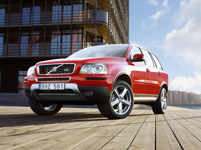 Picture of new Volvo XC90 concept