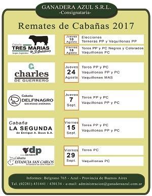 Remates 2017