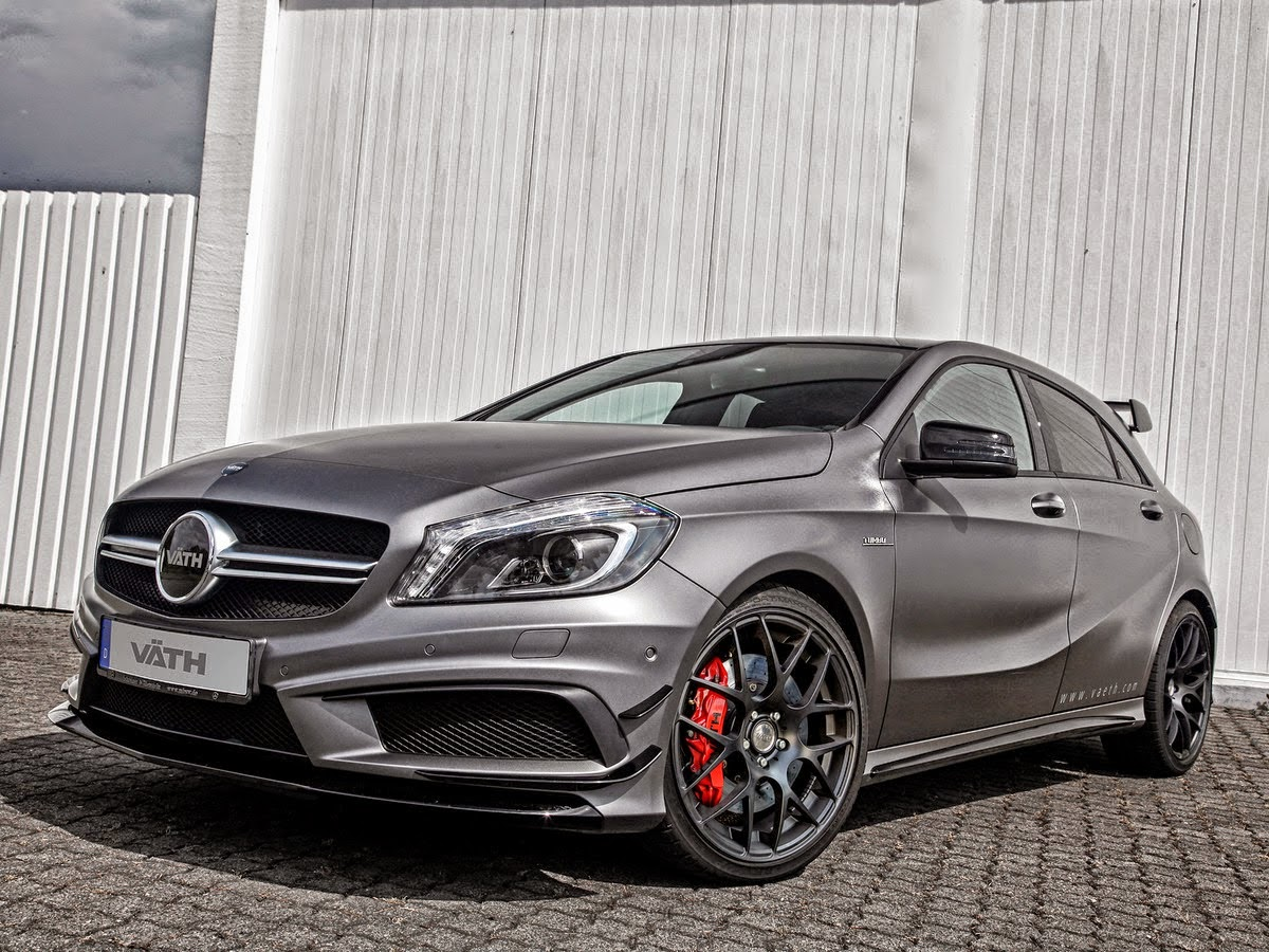 Mercedes benz w176 a45 amg by v th benztuning for Pictures of a mercedes benz