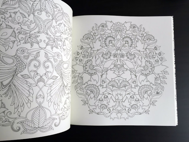 johanna basford secret garden colouring book