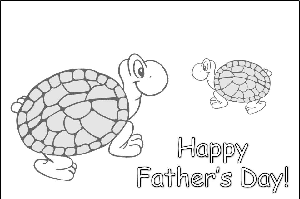 printable coloring pages fathers day - photo#21