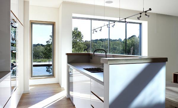 desain rumah atap hijau dan ramah lingkungan rancangan