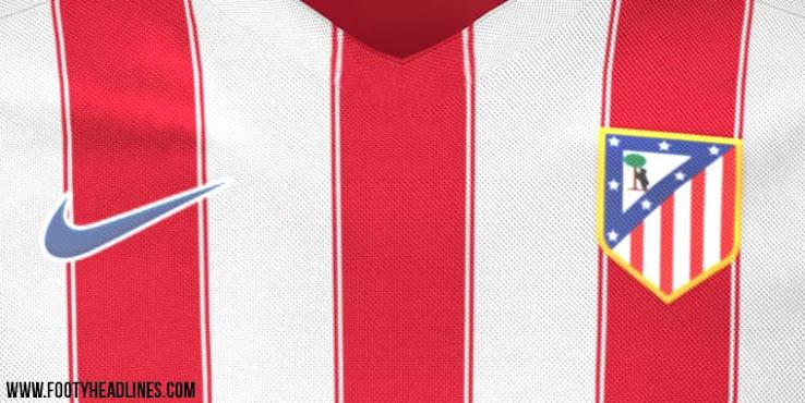 Se filtra la nueva camiseta Nike del Atlético Madrid