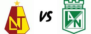 Ver Tolima vs Nacional Online en Vivo – FPC Liga Postobon