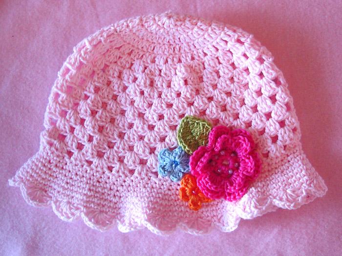 Magnífico Patrones De Ganchillo Para Los Sombreros Del Bebé Para ...