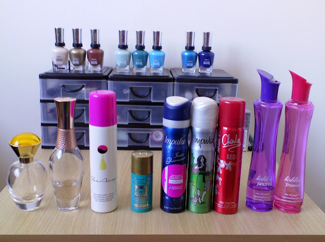 My Nearly Empty Fragrance Collection