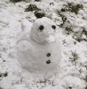 Los muñecos de nieve más cutres