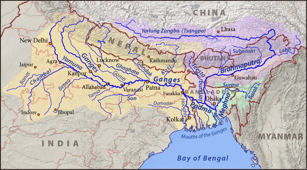 http://en.wikipedia.org/wiki/Ganges#mediaviewer/File:Ganges-Brahmaputra-Meghna_basins.jpg