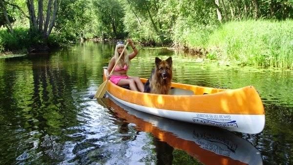 Kanuumatkad Pirita jõel Eestimaa looduses, kanuu reisid