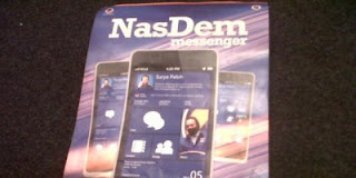 Nasdem Phone Smartphone Khusus Partai Nasdem