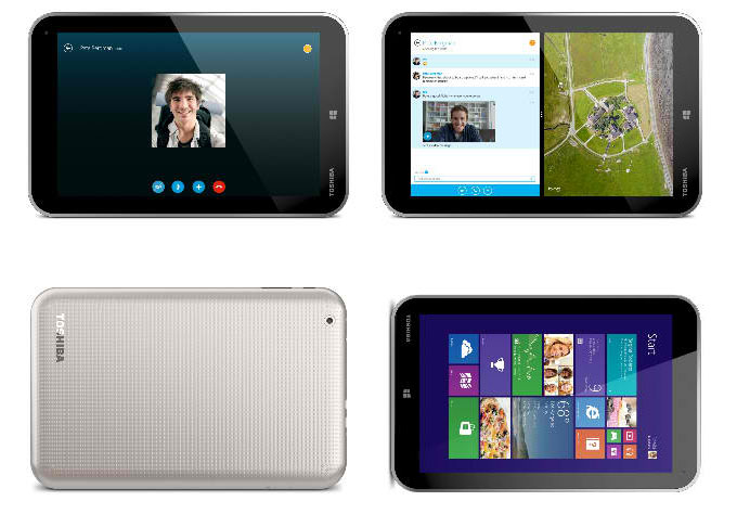 how to download skype on toshiba tablet