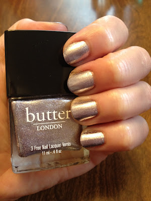 butter LONDON, butter LONDON nail polish, butter LONDON nail lacquer, butter LONDON nail varnish, butter LONDON Wallis, nails, manicure, swatches, butter LONDON Lillibet's Jubilee