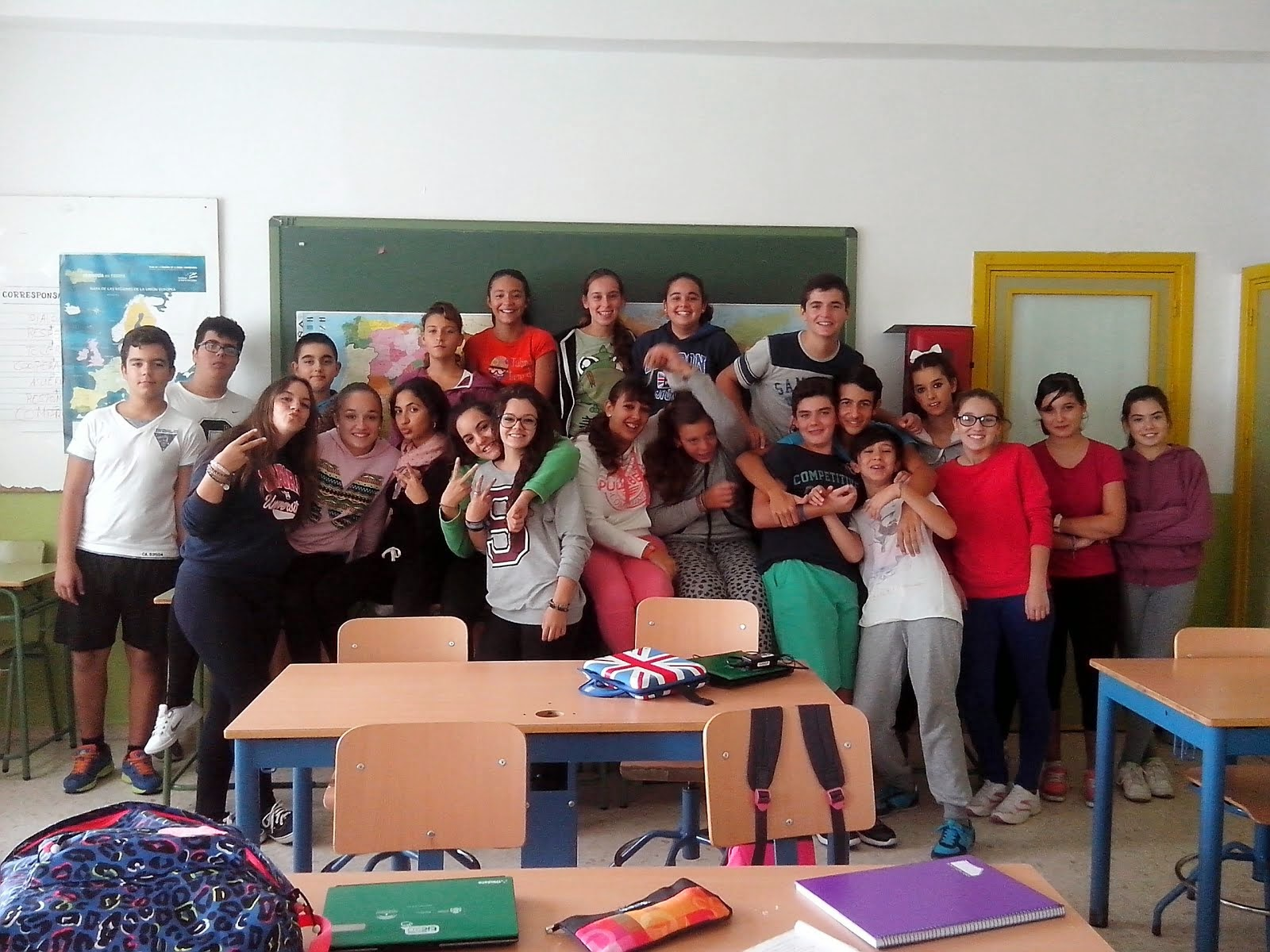 2º ESO B students