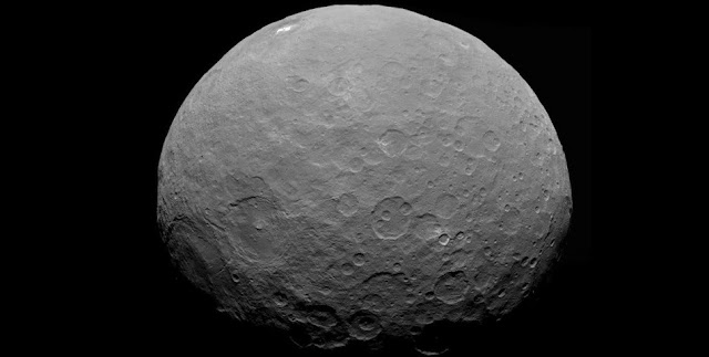 Ceres as seen by NASA's Dawn spacecraft. Credit: NASA/JPL-Caltech/UCLA/MPS/DLR/IDA