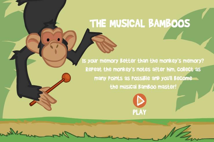 Kids Game : Musical Bamboo Memory