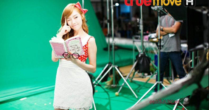 "[Pictures] 130527 SNSD (except Hyoyeon) - ""TrueMoveH"" BTS Pictures"
