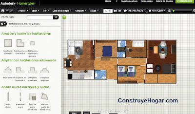 Aplicaciones para hacer planos de casas gratis en la nube for Programa para planos de viviendas