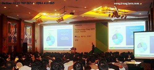Tổ chức sự kiện Trần Gia - Cho thuê màn chiếu máy chiếu
