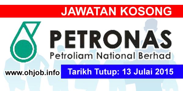 Jawatan Kerja Kosong Petroliam Nasional Berhad (PETRONAS) logo www.ohjob.info julai 2015
