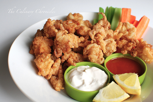 Week 12 seafood frenzy friday carrie s experimental kitchen for Fried buffalo fish