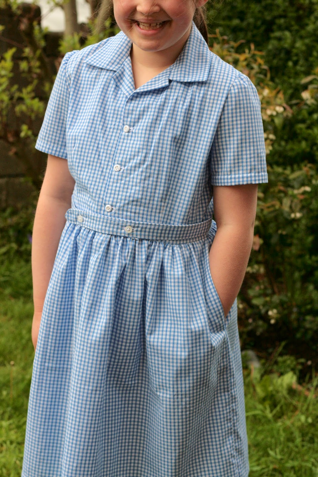 Designs by bellabug a vintage school summer dress the pattern has three variations a pleated skirt with long sleeves and buttoned cuffs short sleeves with a gathered skirt and self fabric belt jeuxipadfo Images