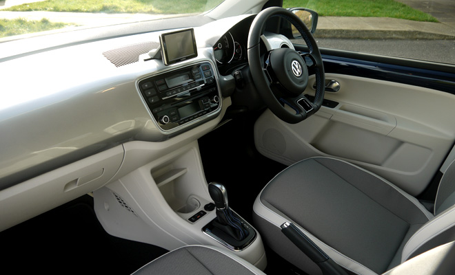 Volkswagen e-Up interior