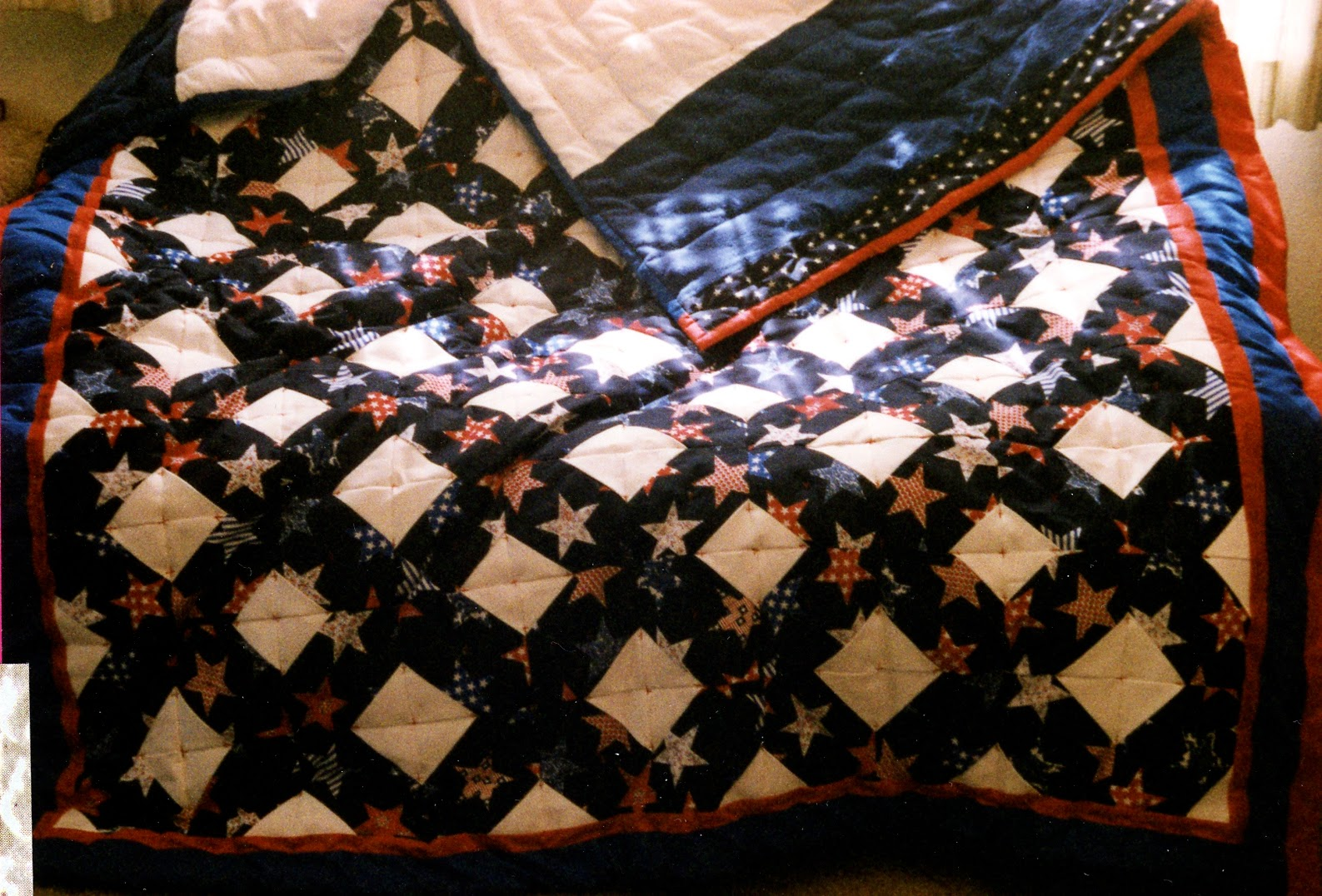 Another Patriotic Wedding quilt
