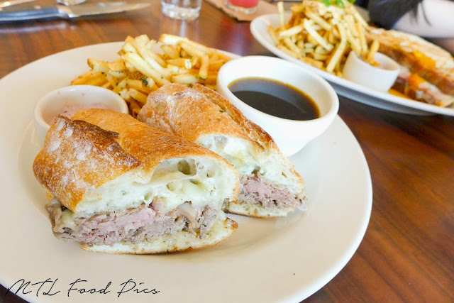 Prime Rib French Dip Sandwich - Bistro food