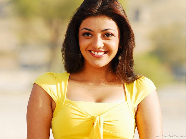Beautiful Bollywood Model Kajal Agarwal Wallpaper